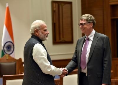 Ignoring protests, Gates Foundation to give Modi global award