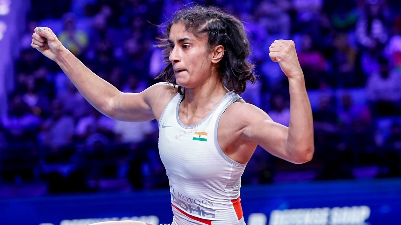 Changed in Tactics Worked For Me During Bronze-Medal Bout: Vinesh