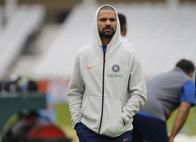 'Ball ko dekh toot gaya hoga': Dhawan after blow to neck