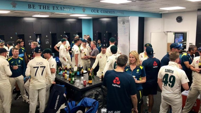 Australia, Eng Cricketers Hanging Out After Ashes Draw is a Winner