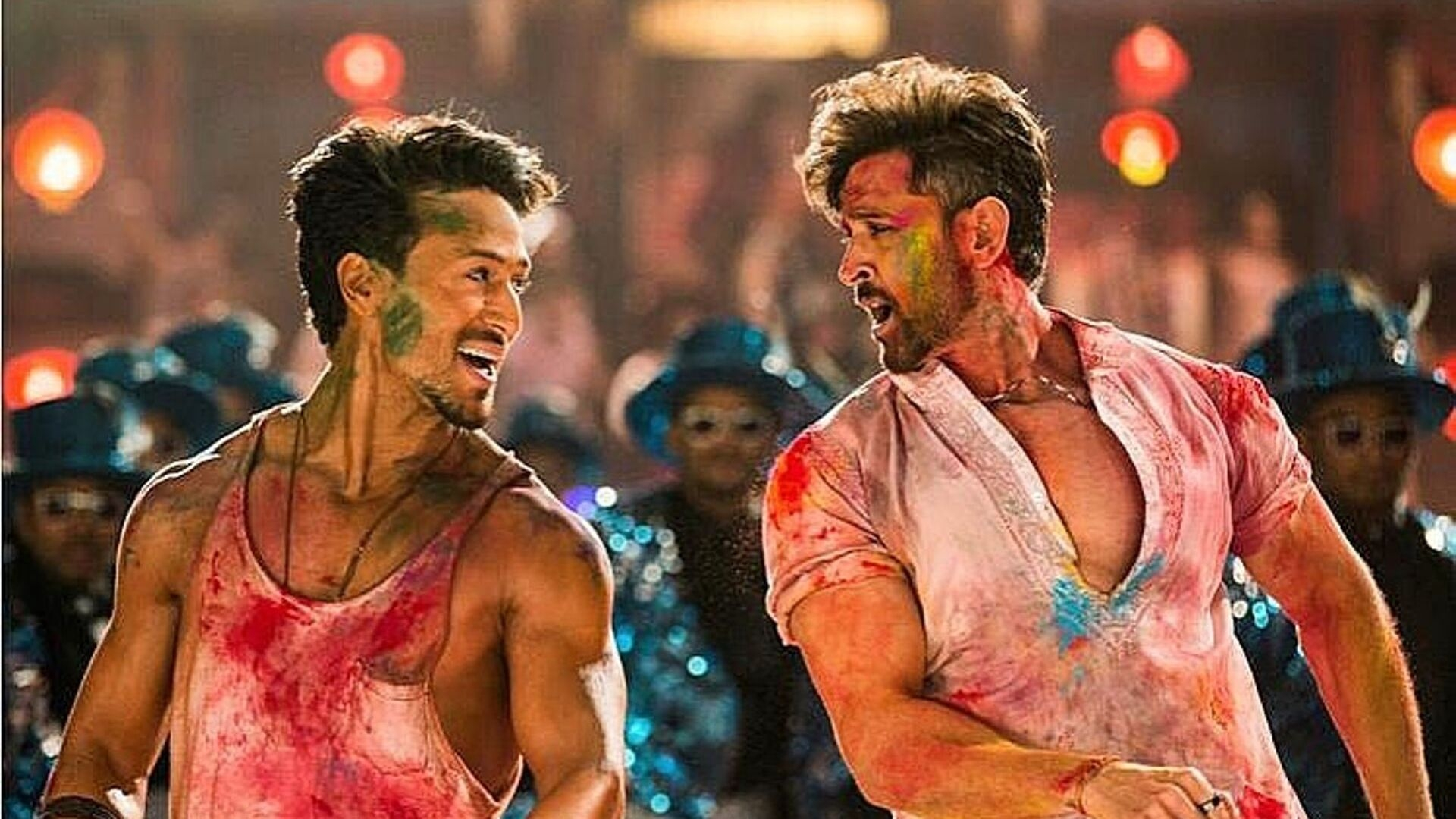 Hrithik and Tiger's Have a Colourful Dance-Off in New 'War' Song