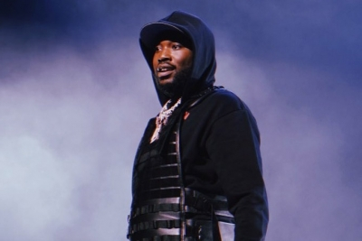 Meek Mill gives away backpacks, supplies at his old school