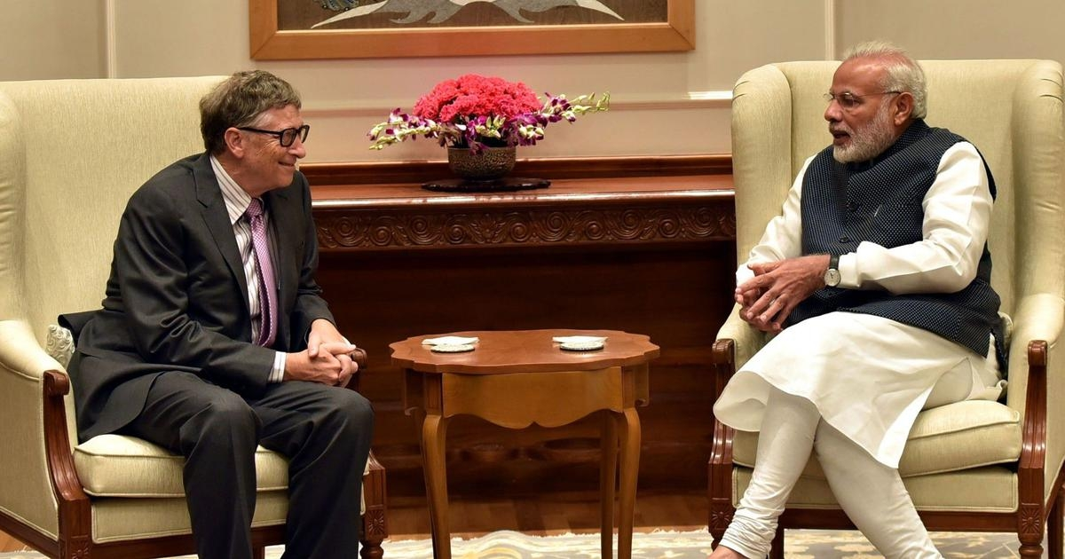 Bill Gates on Row Over Awarding Modi: People 'Rightly' Questioning