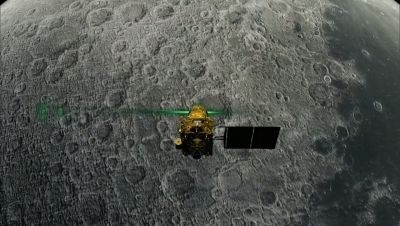 'The speed at which it was travelling didn't give moon lander a chance'