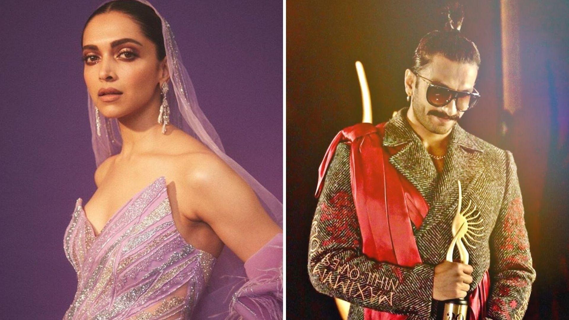 Deepika Creates Hilarious Memes on Her & Ranveer's IIFA Looks