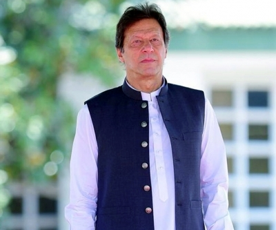 In New York, Imran Khan meets with Kashmir Study Group