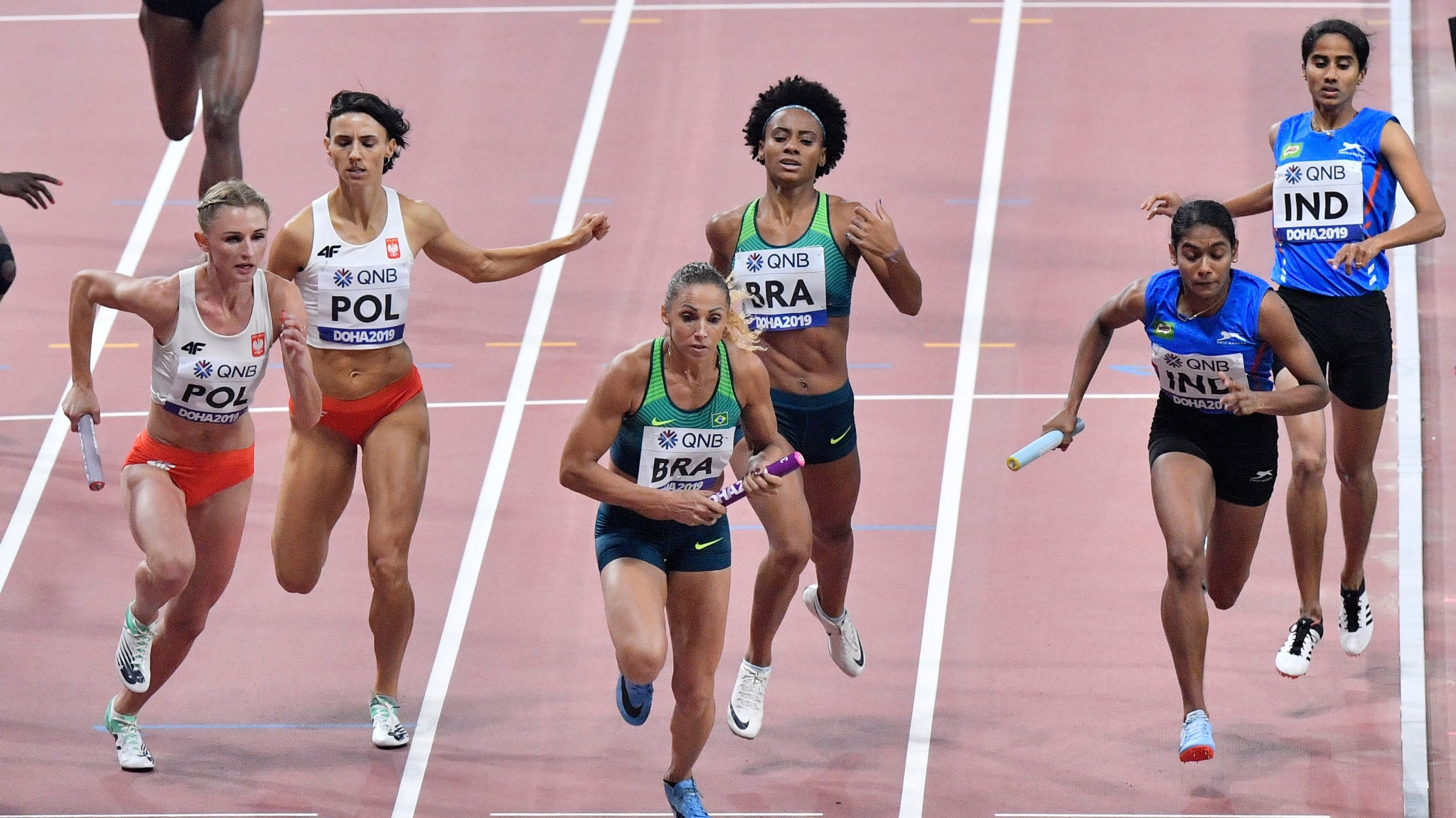 Indian Mixed 4x400m Relay Team Qualifies For 2020 Olympics