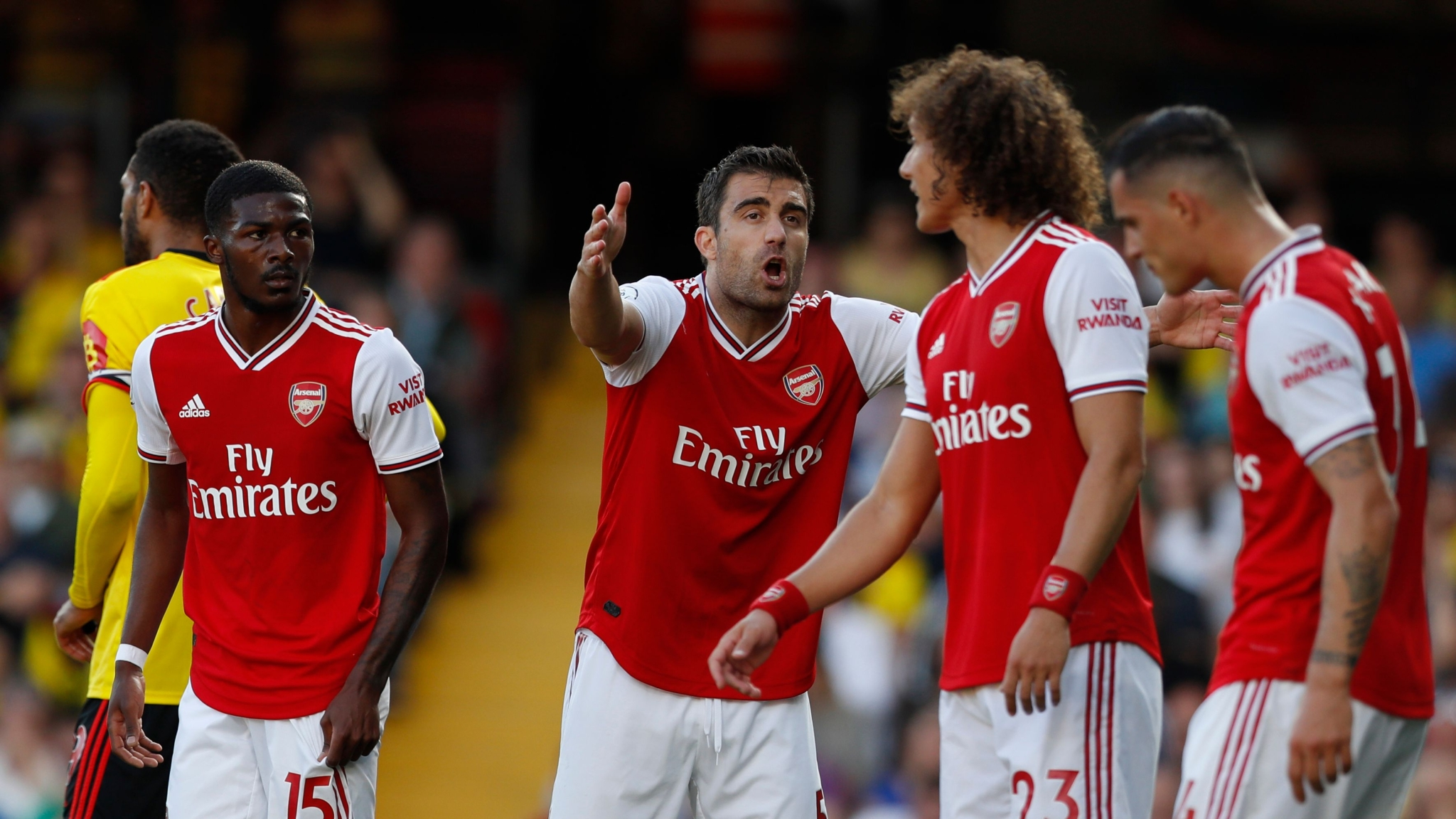 Aubameyang Scores Twice But Watford Fight Back to Draw Arsenal