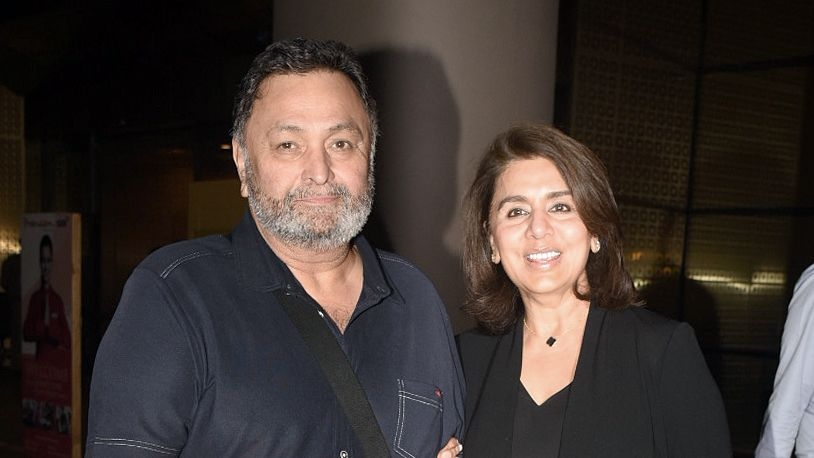 First Pics: Rishi Kapoor Returns to India After Cancer Treatment