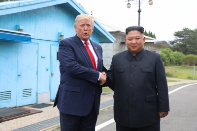 Trump expects to meet Kim at 'some point this year'