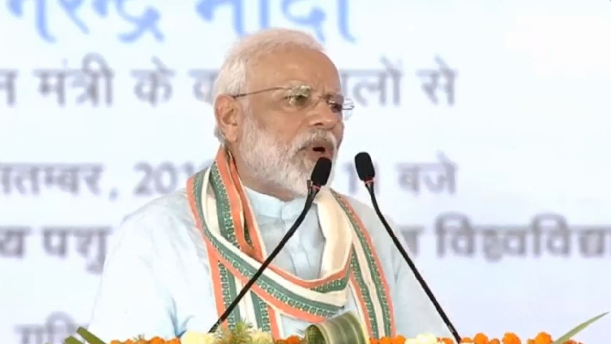 Unfortunate That Words Like 'Om' & 'Cow' Shock Many: PM Modi
