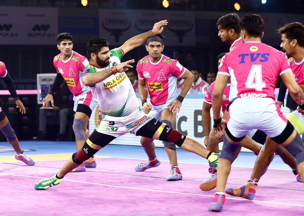 PKL Highlights: Patna Trump Jaipur, Keep Playoff Hopes Alive