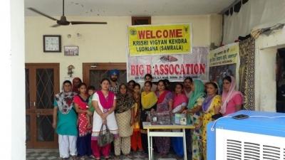 Women micro-entrepreneurs break free from poverty in Punjab