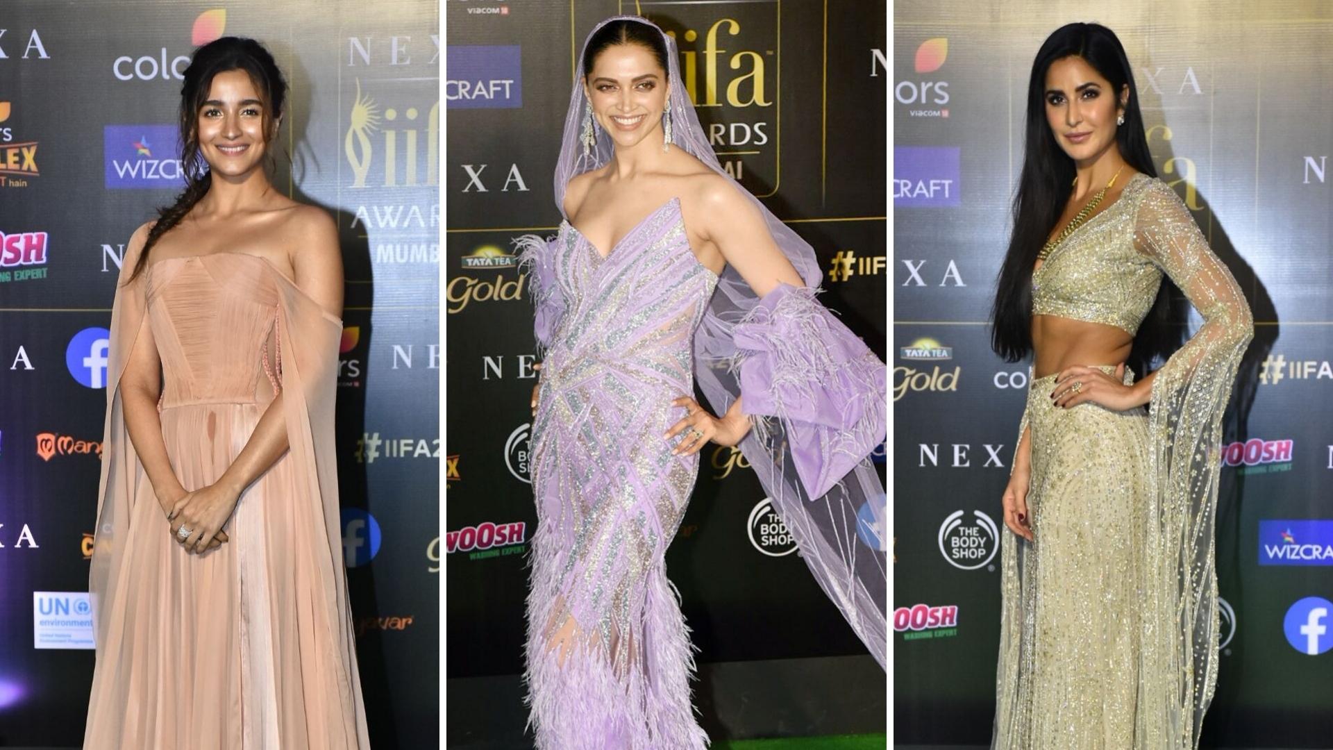 Pics: Alia, Deepika, Katrina & More on the IIFA 2019 Green Carpet