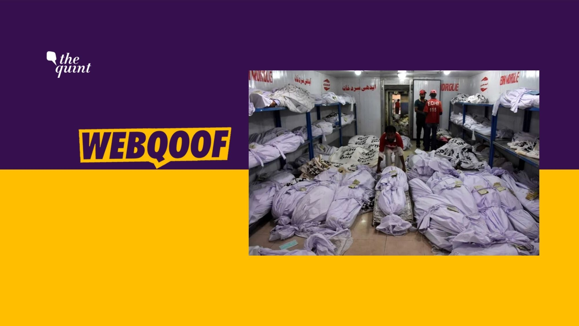 Bodies Found in Container in TN? No, It's From Pak's 2015 Heatwave