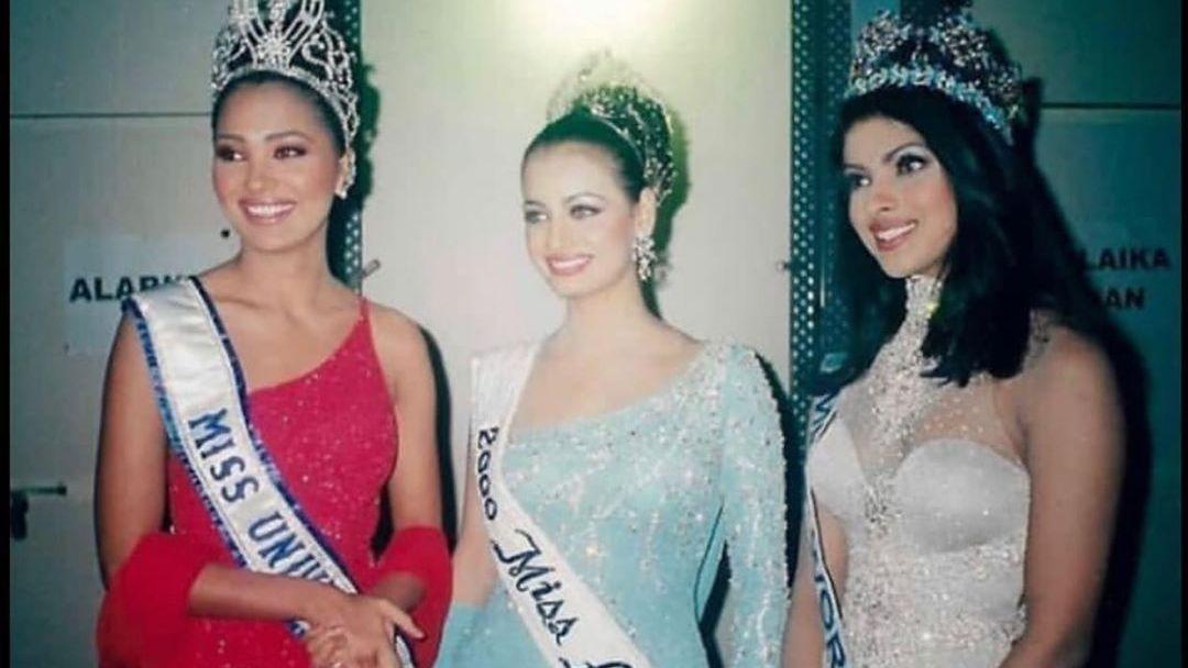Lara Dutta Shares a Nostalgic Memory with Dia Mirza & PeeCee