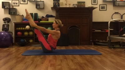 Strengthen your body's core with Pilates