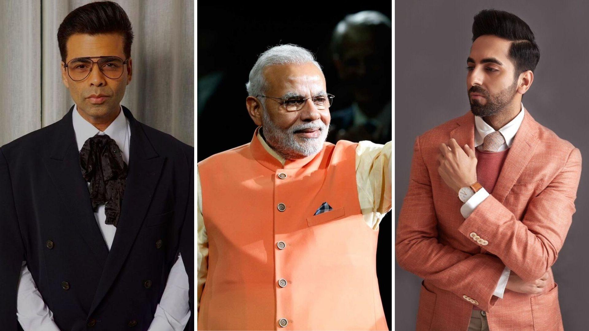 KJo, Ayushmann, Vivek Oberoi Send Birthday Wishes for PM Modi