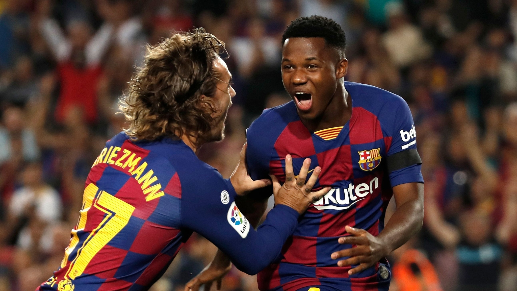 16-Year-old Barca Star Ansu Fati Sets New Record in Valencia Rout