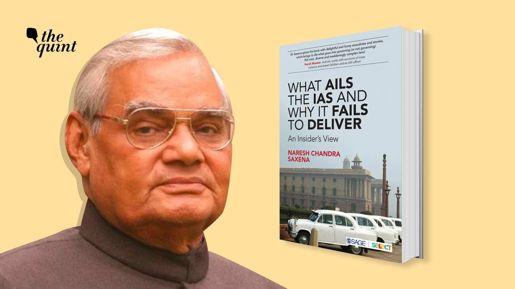 Here's Why 'Vajpayee Didn't Like Me': Ex-IAS Officer Naresh Saxena