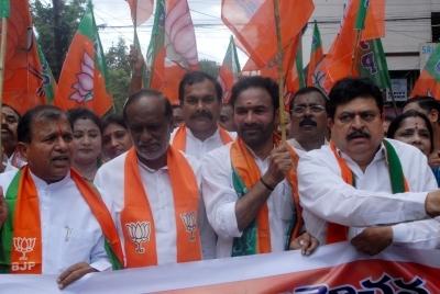 BJP looking to garner maximum mileage from 'Telangana Liberation Day'