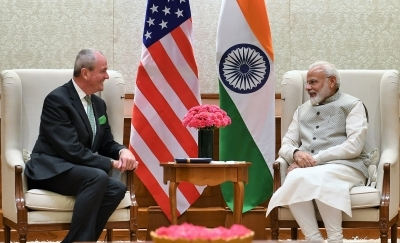 New Jersey Governor 'sells' his state to India Inc.