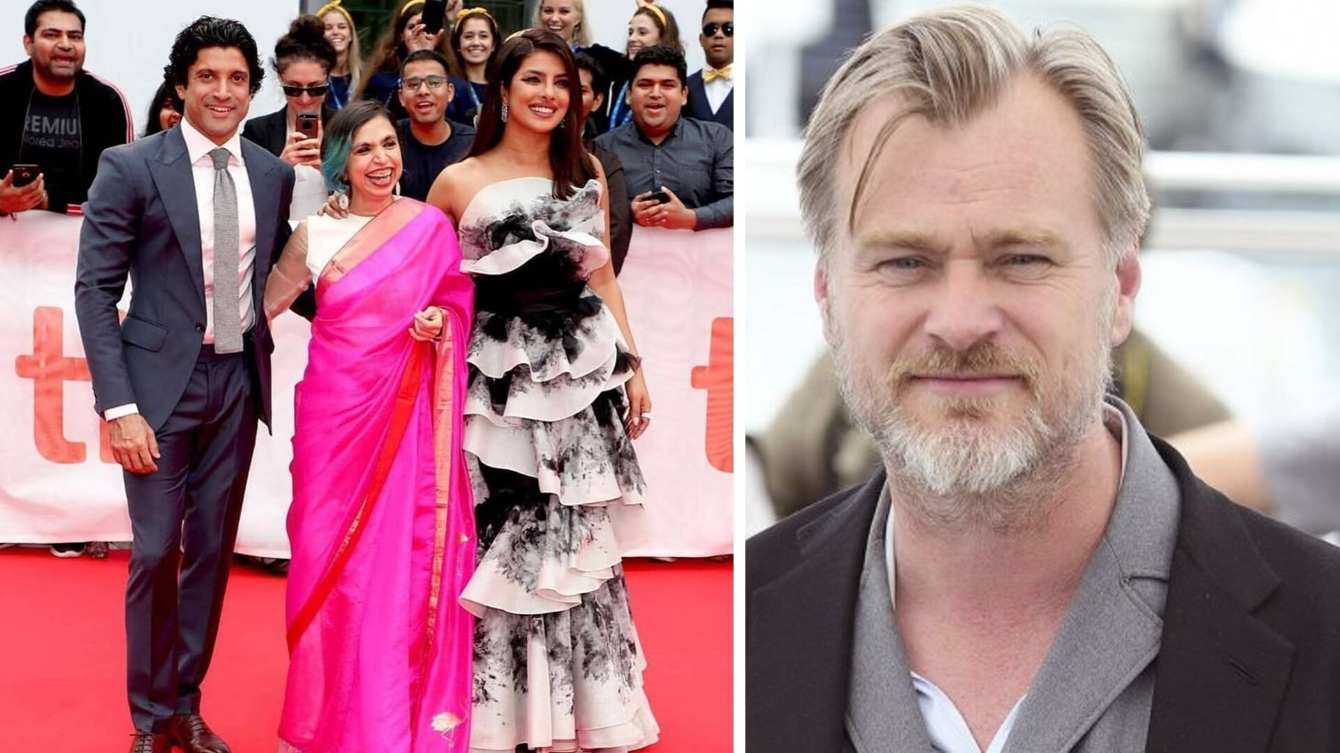 QuickE: 'The Sky Is Pink' Gets Standing Ovation; Nolan in Mumbai