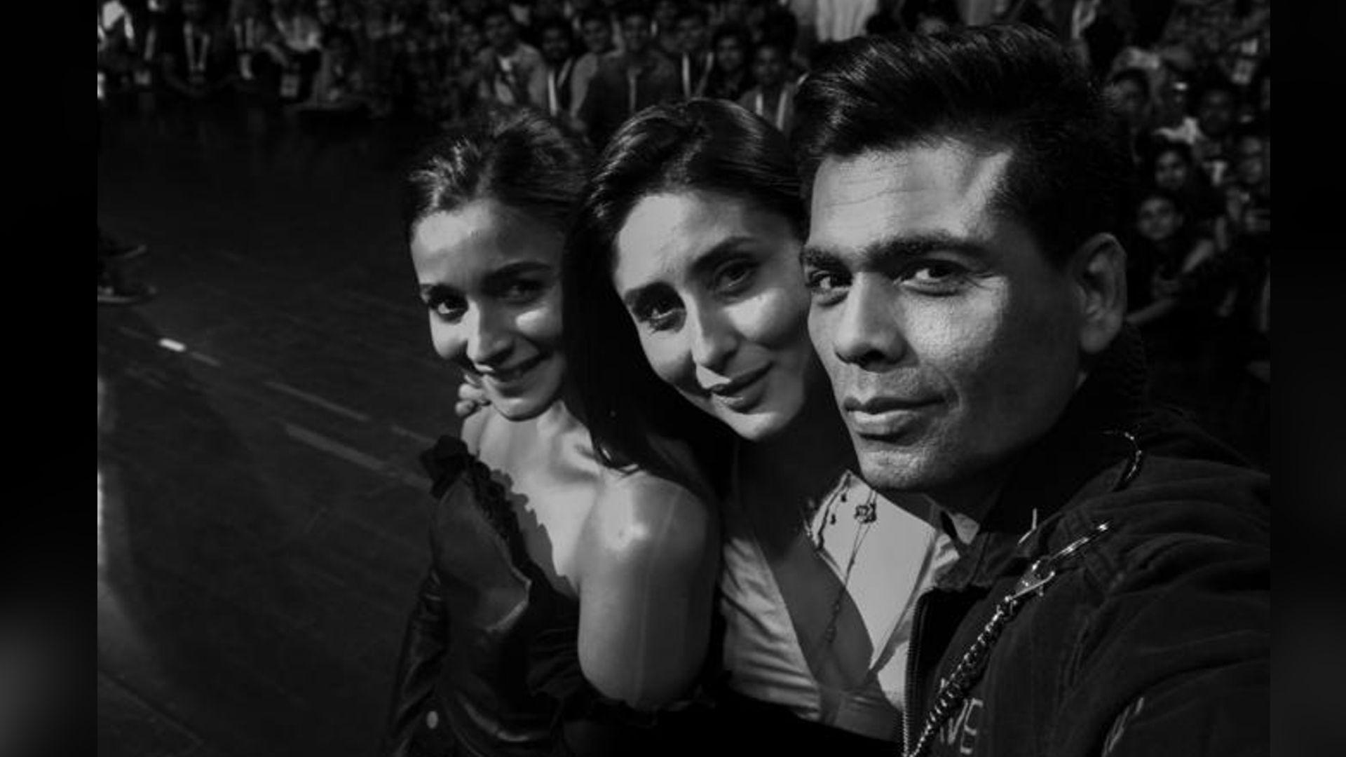 KJo Plays Rapid Fire With 'Favourites' Alia Bhatt & Kareena Kapoor