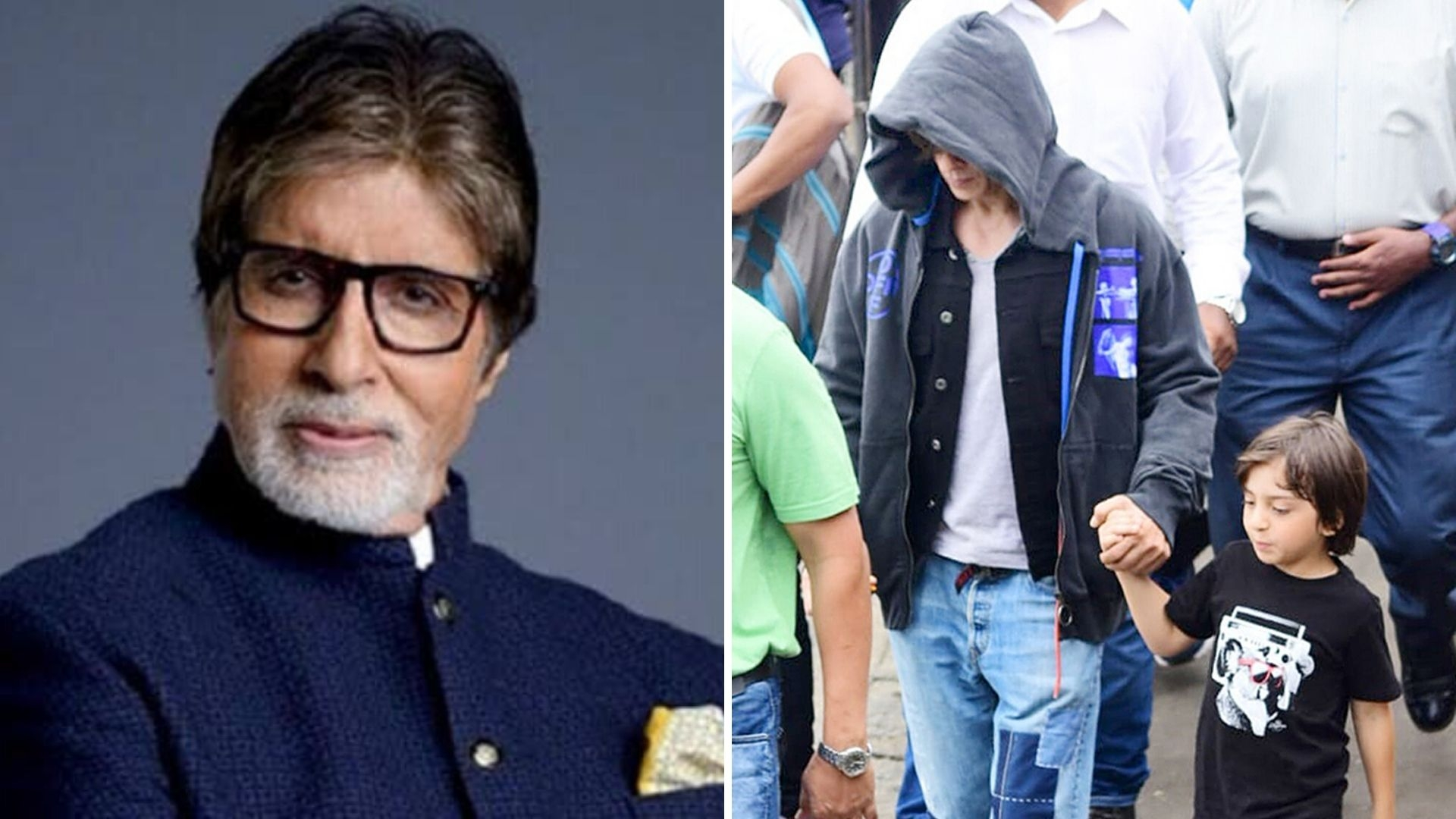 QuickE: Big B Hospitalised; SRK, KJo at Gateway of India
