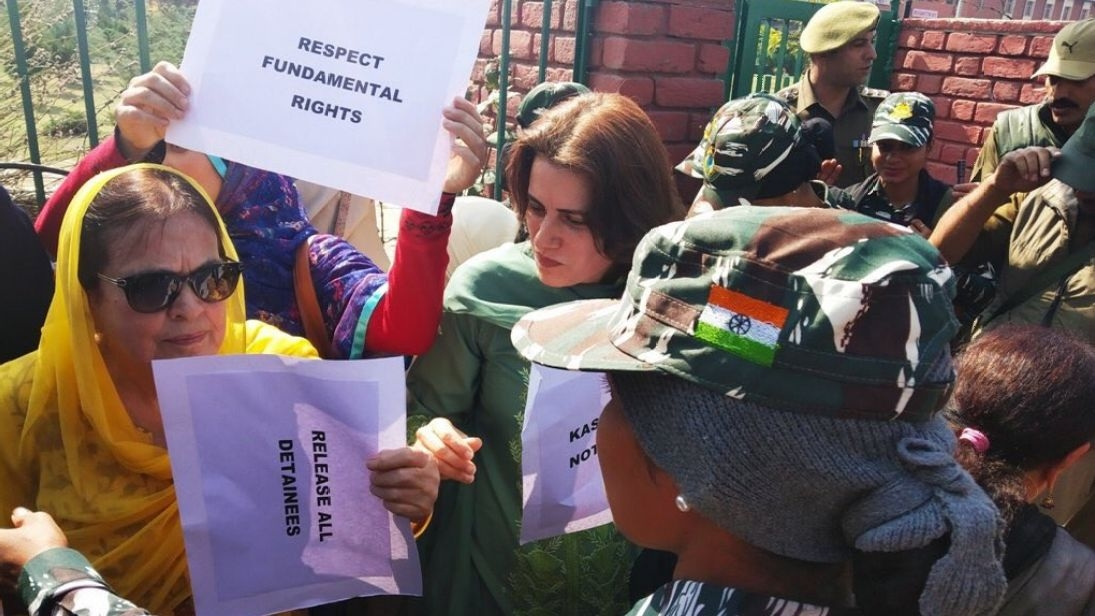 Kashmir Protesters Released on Condition They Won't Talk to Media