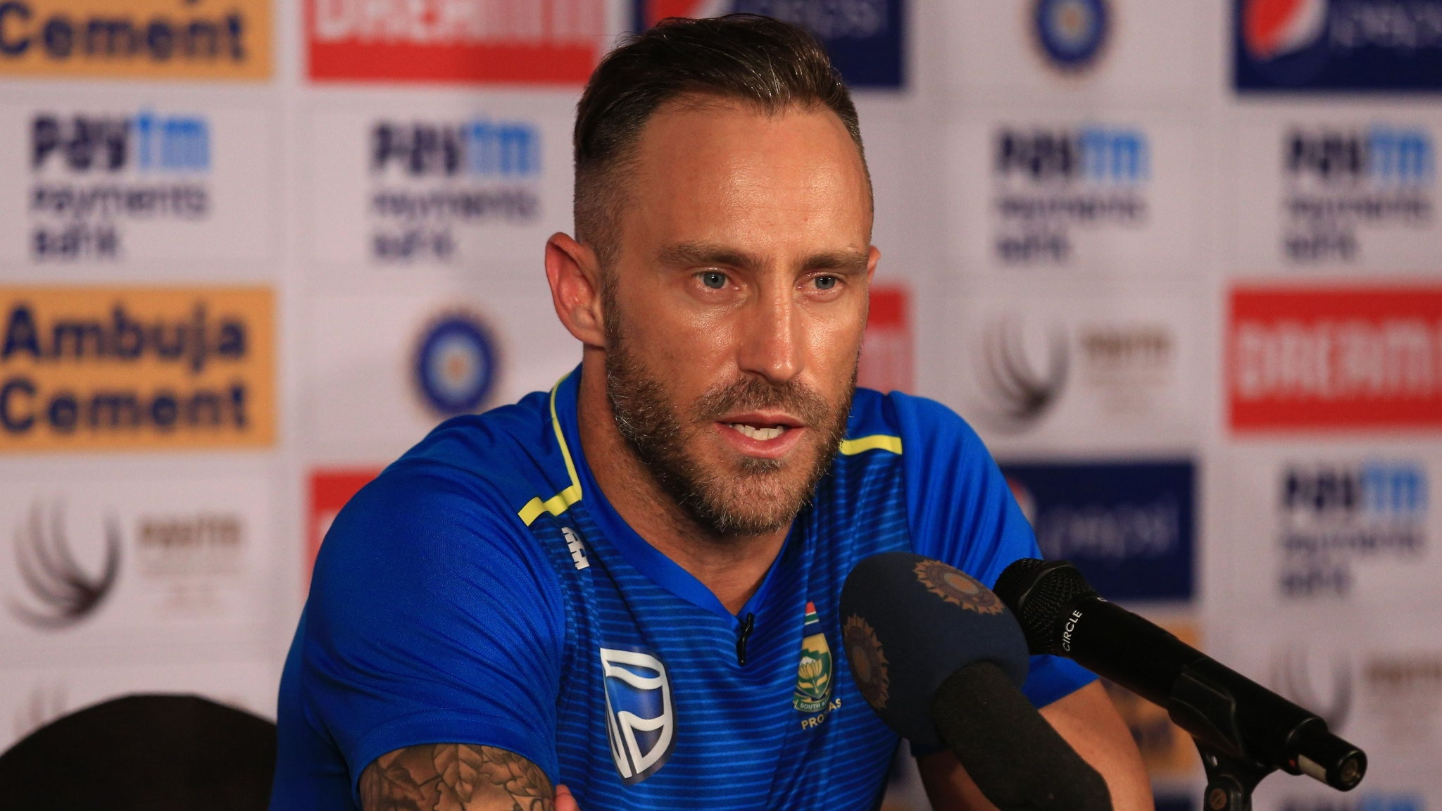 Faf du Plessis Blames Lack of Experience in Side After Series Loss
