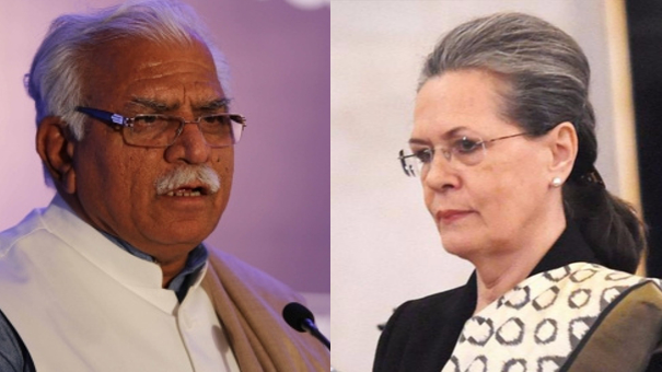 In A Cheap Remark, Haryana CM Khattar Compares Sonia to Dead Mouse