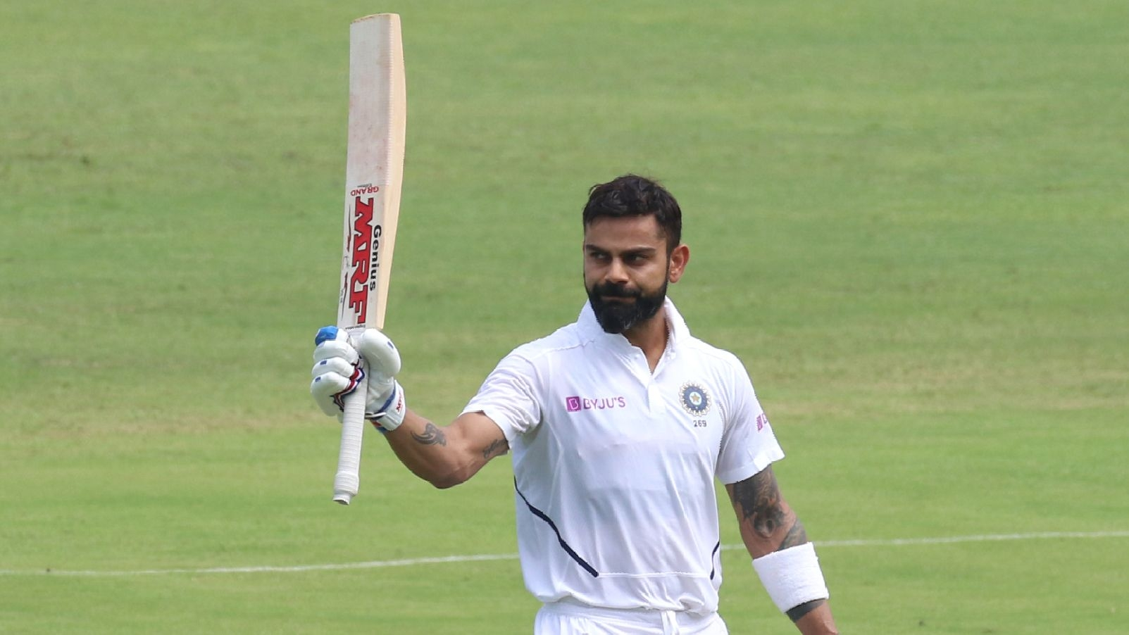 Virat Kohli Smashes Record-Breaking 7th Double Hundred in Tests