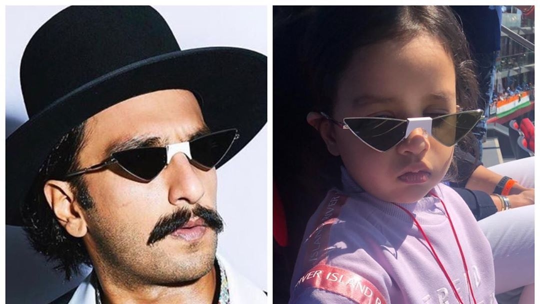 Ziva's Reaction to Ranveer Singh's Glasses Leaves Dhoni in Awe