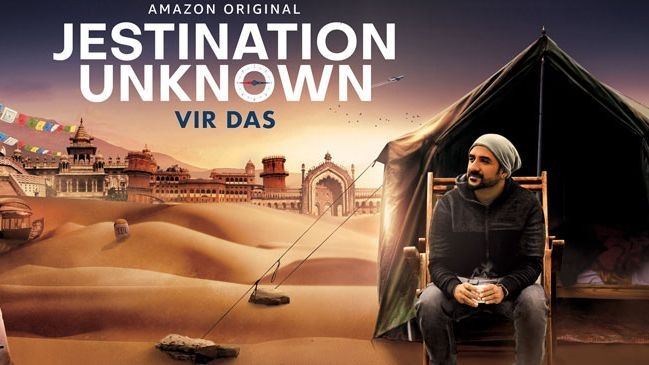 Vir Das to Be Seen in Amazon Prime's 'Jestination Unknown'