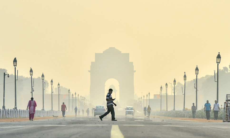 Delhi Pollution: Air Quality in 'Severe' Category