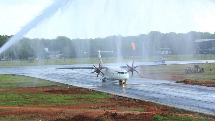 After 50 Years, Jaffna Welcomes First Flight from Tamil Nadu
