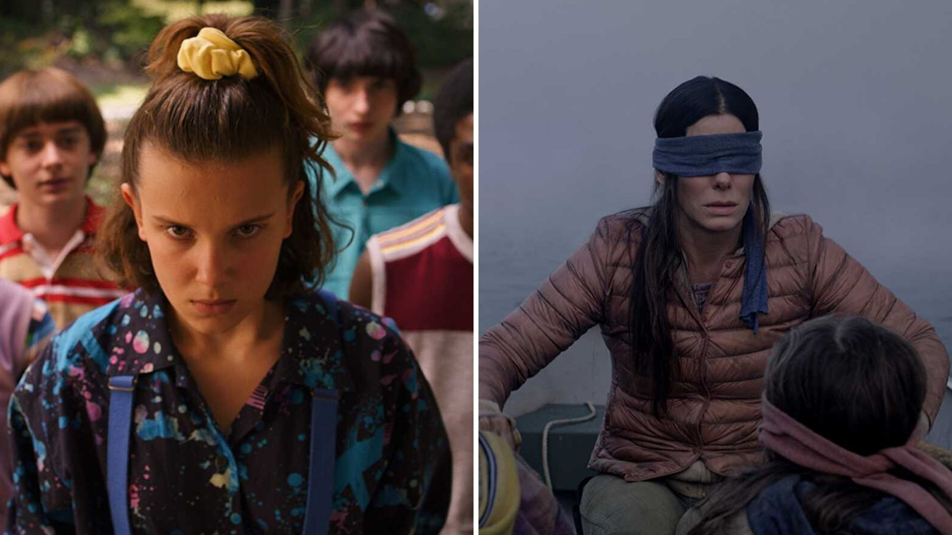 'Stranger Things' and 'Birdbox' Top Netflix's Most-Watched List