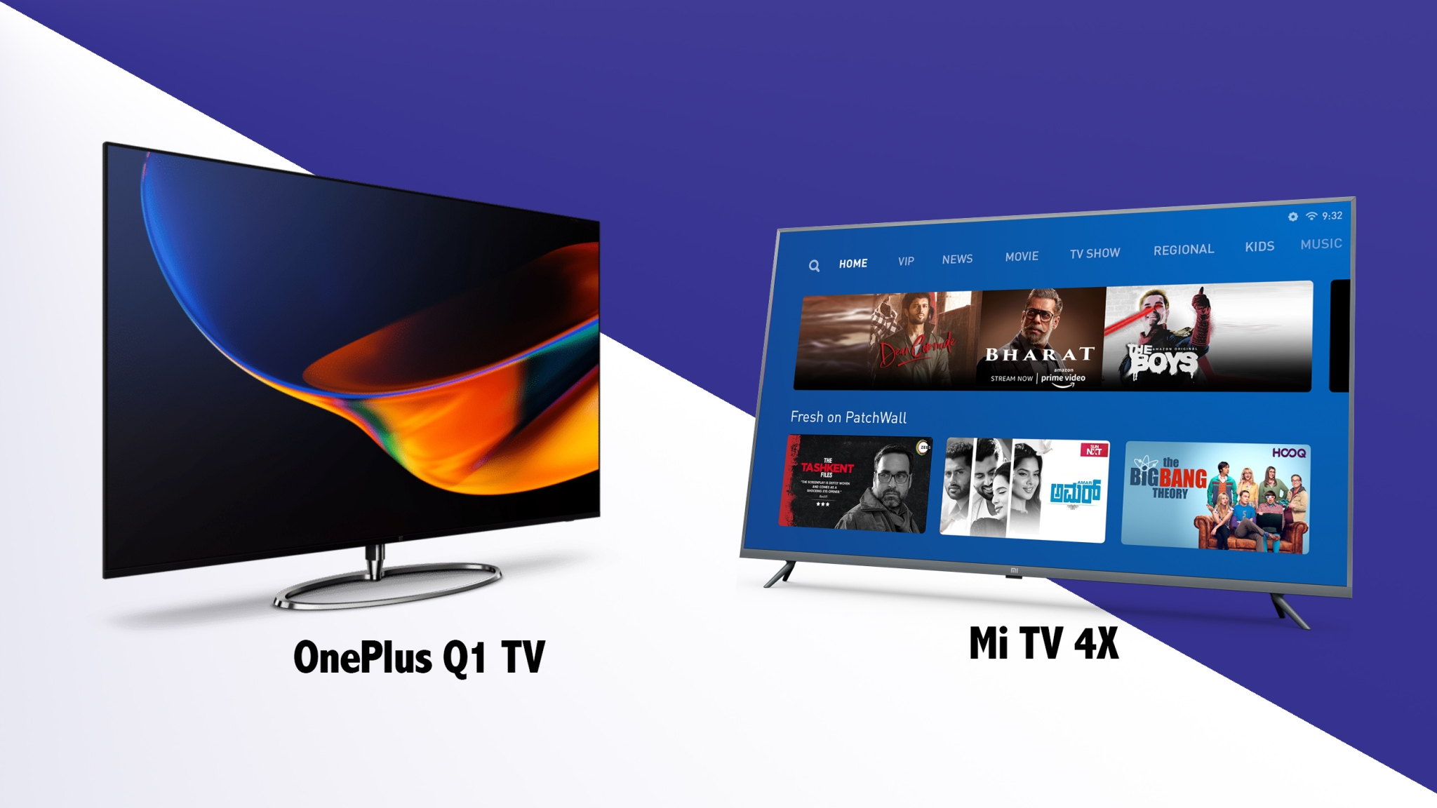 OnePlus Q1 TV vs Mi TV 4X: Which Smart TV Offers Better Value?