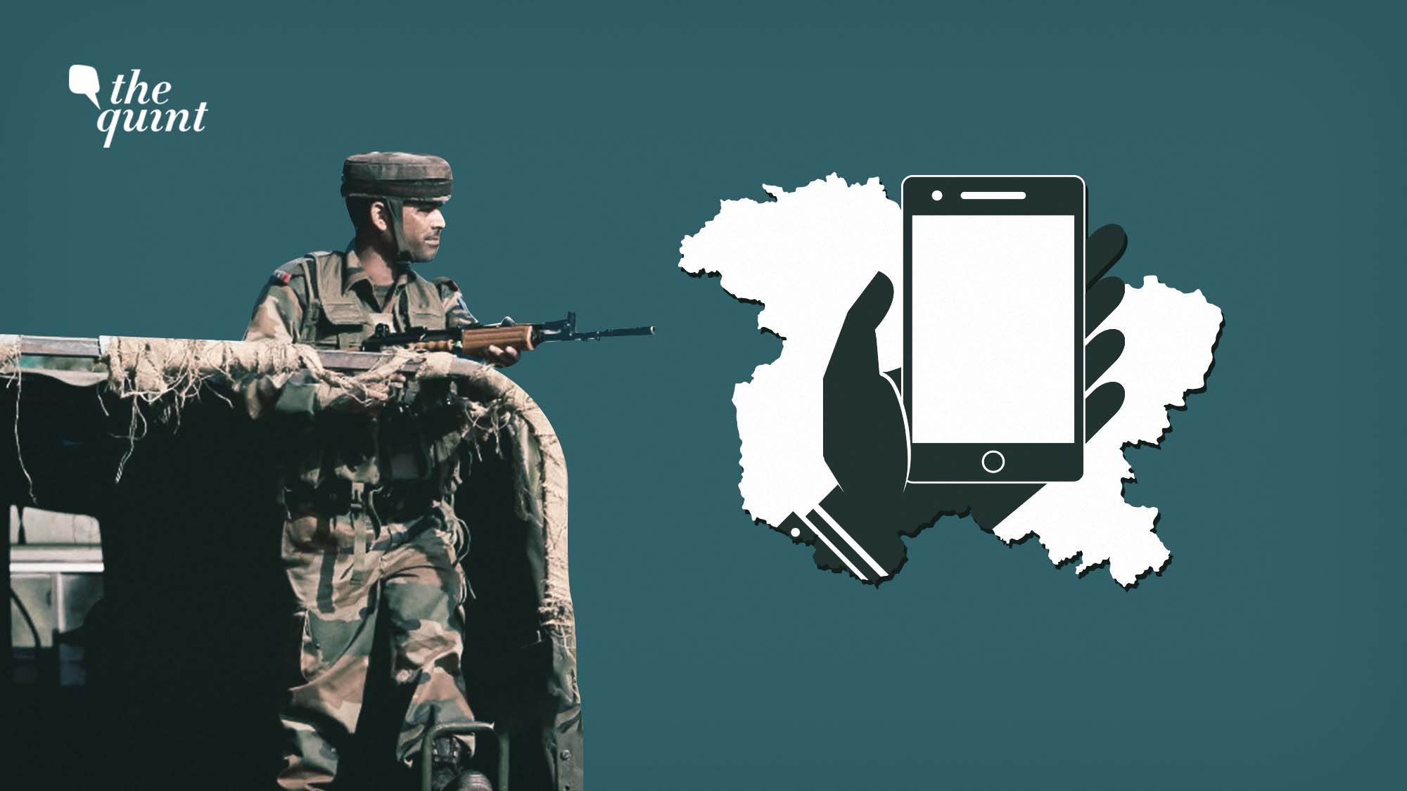 Mobiles are Back in Kashmir, So Are Counter-Insurgency Operations