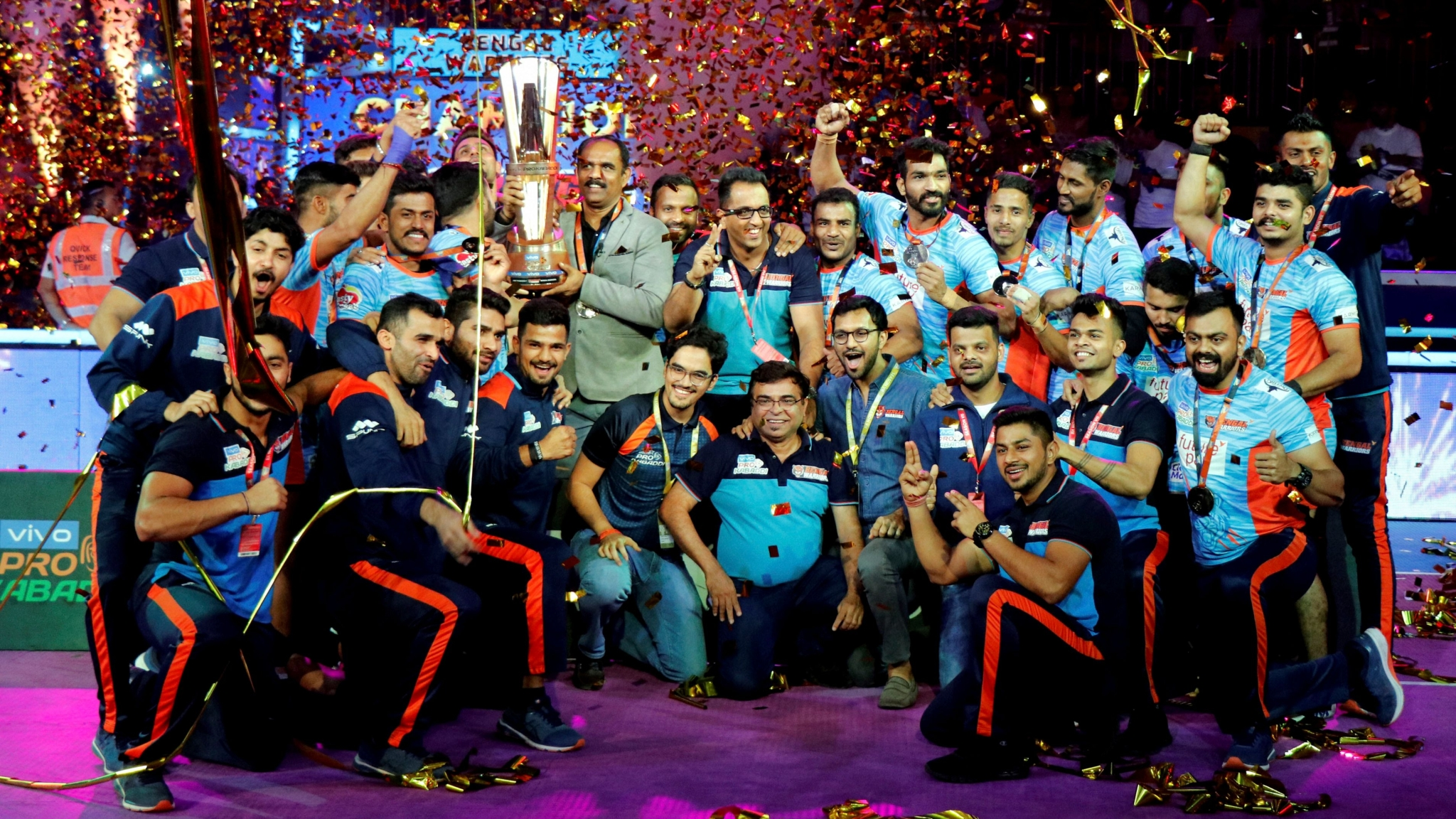 Pro Kabaddi League 2019: Bengal Warriors Crowned Champions