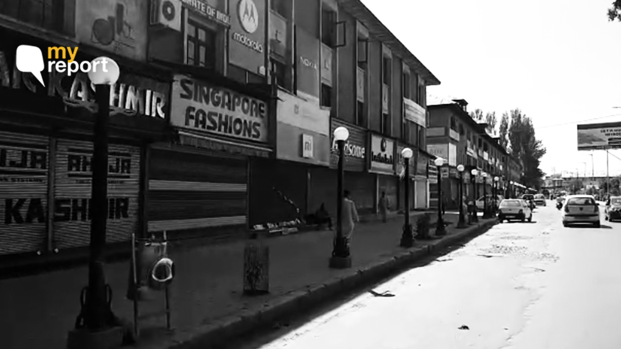 Normal? Kashmiris Have to Drive Around in Search of Biscuits, Fuel