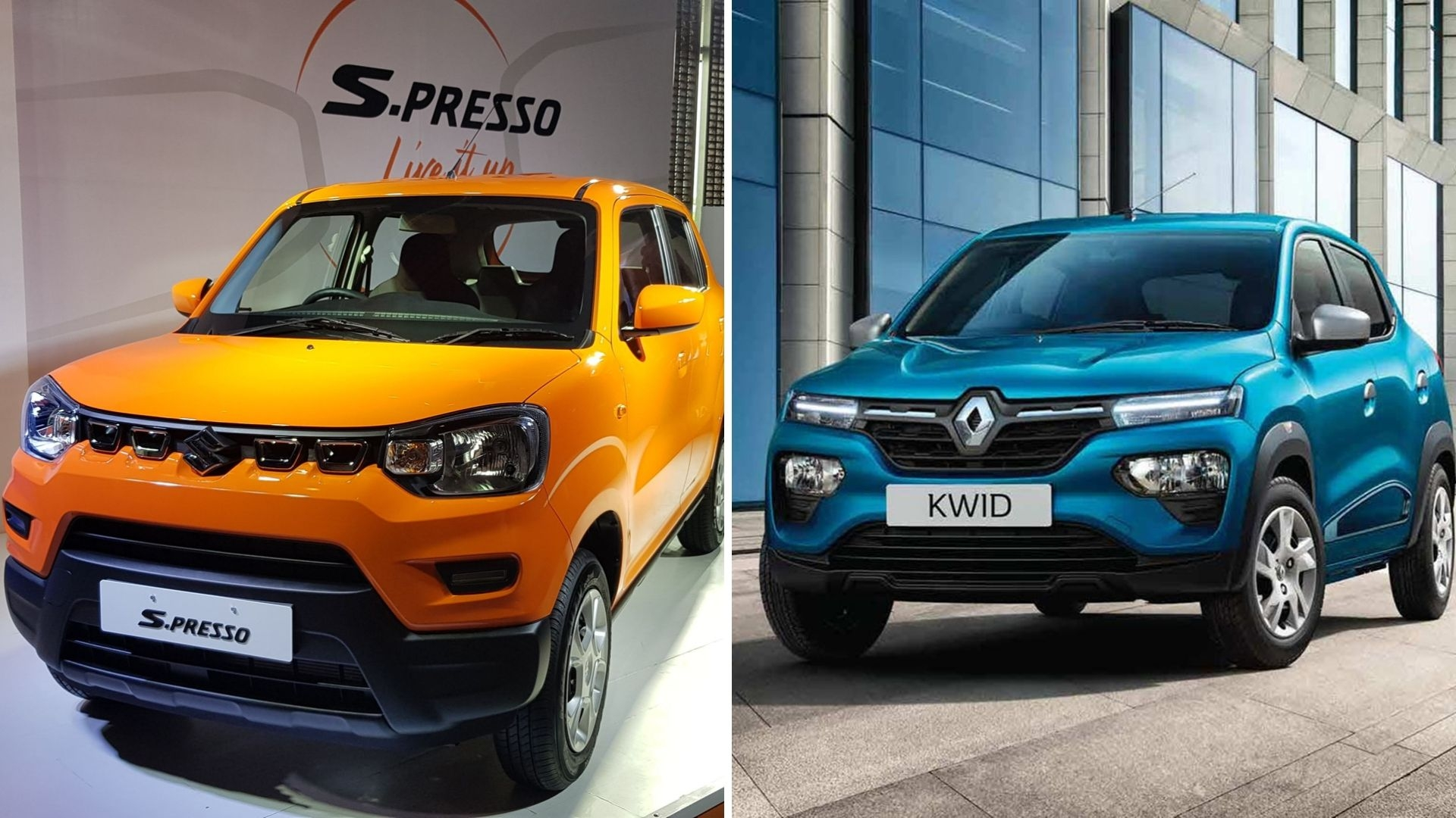 Maruti Suzuki S-Presso vs Renault Kwid: The Small Car Challenge