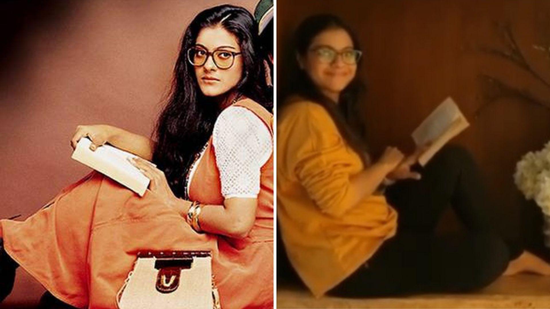 Kajol Celebrates 24 Years of 'DDLJ' with Her Favourite Simran Pose