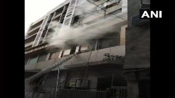 Fire at Residential Building in South Mumbai, Rescue Underway