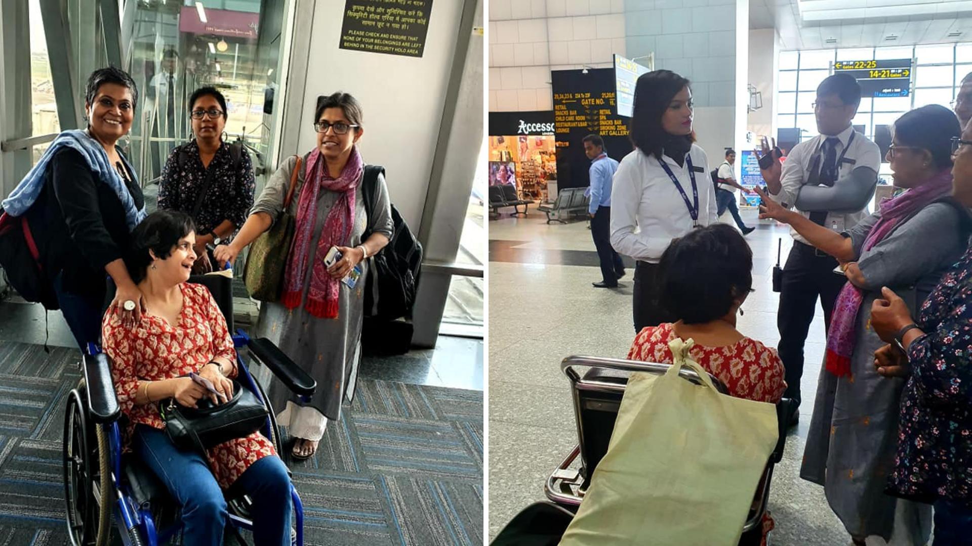 Disability Activist Asked to 'Take Off Pants' at Kolkata Airport