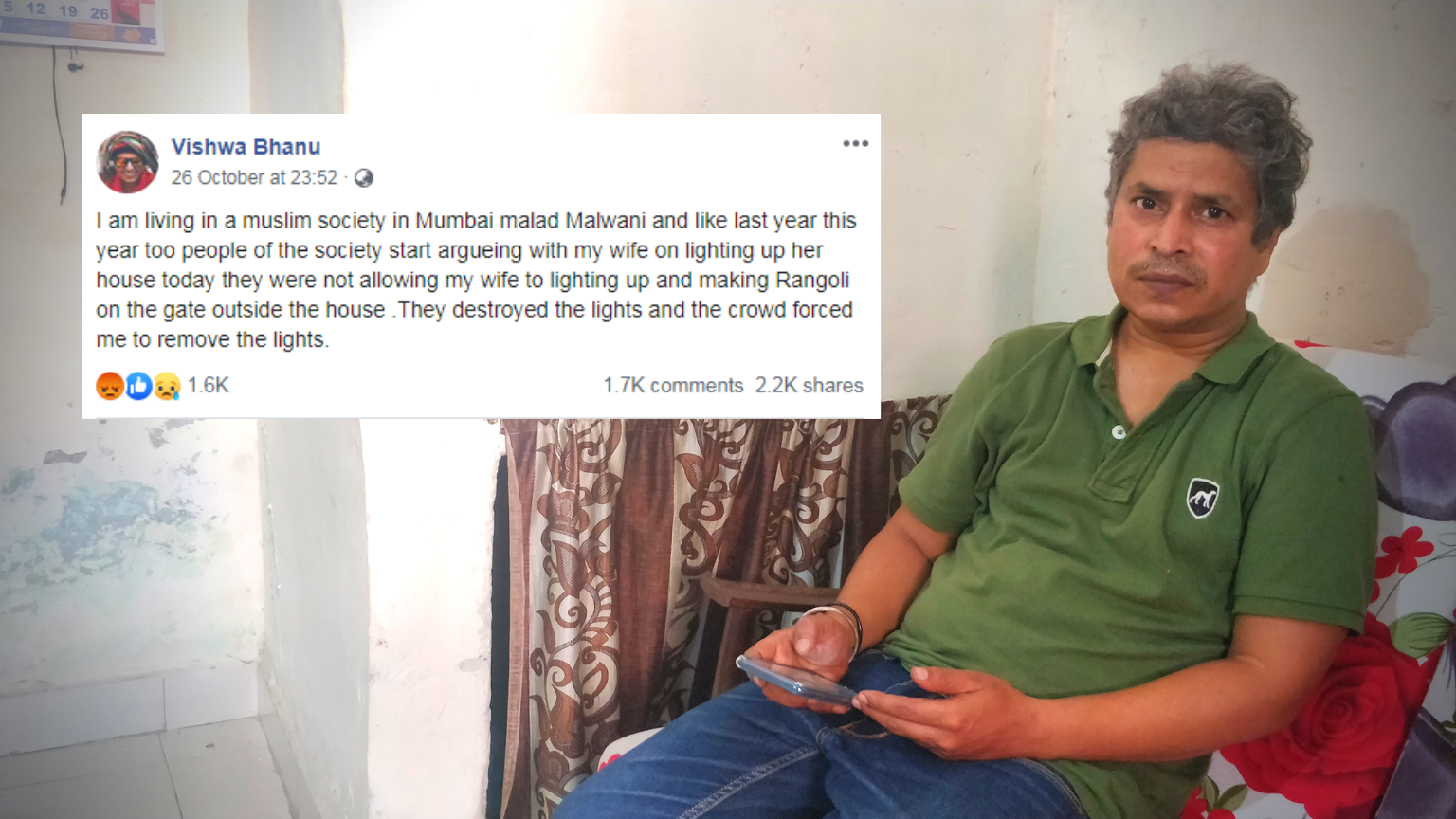 Leftist Atheist Becomes Poster Boy for Hindu Right-Wing on Diwali