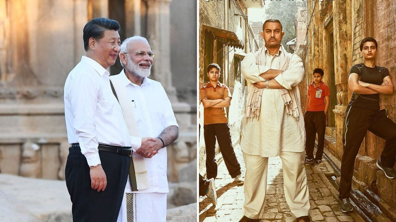 Modi Reveals President Xi Jinping Has Watched Aamir's 'Dangal'