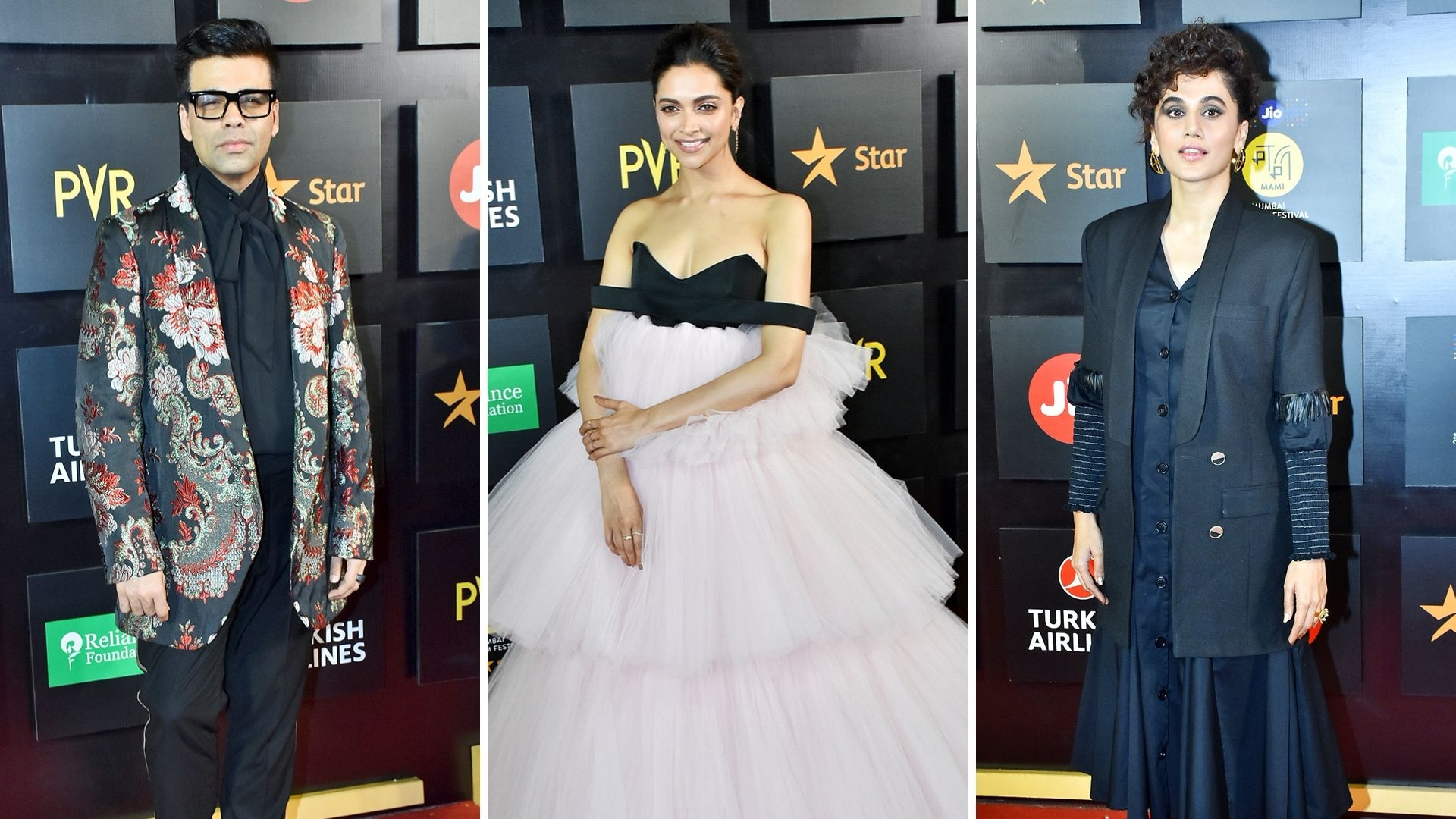 Deepika, KJo, Taapsee Grace the Red Carpet at MAMI Opening Night