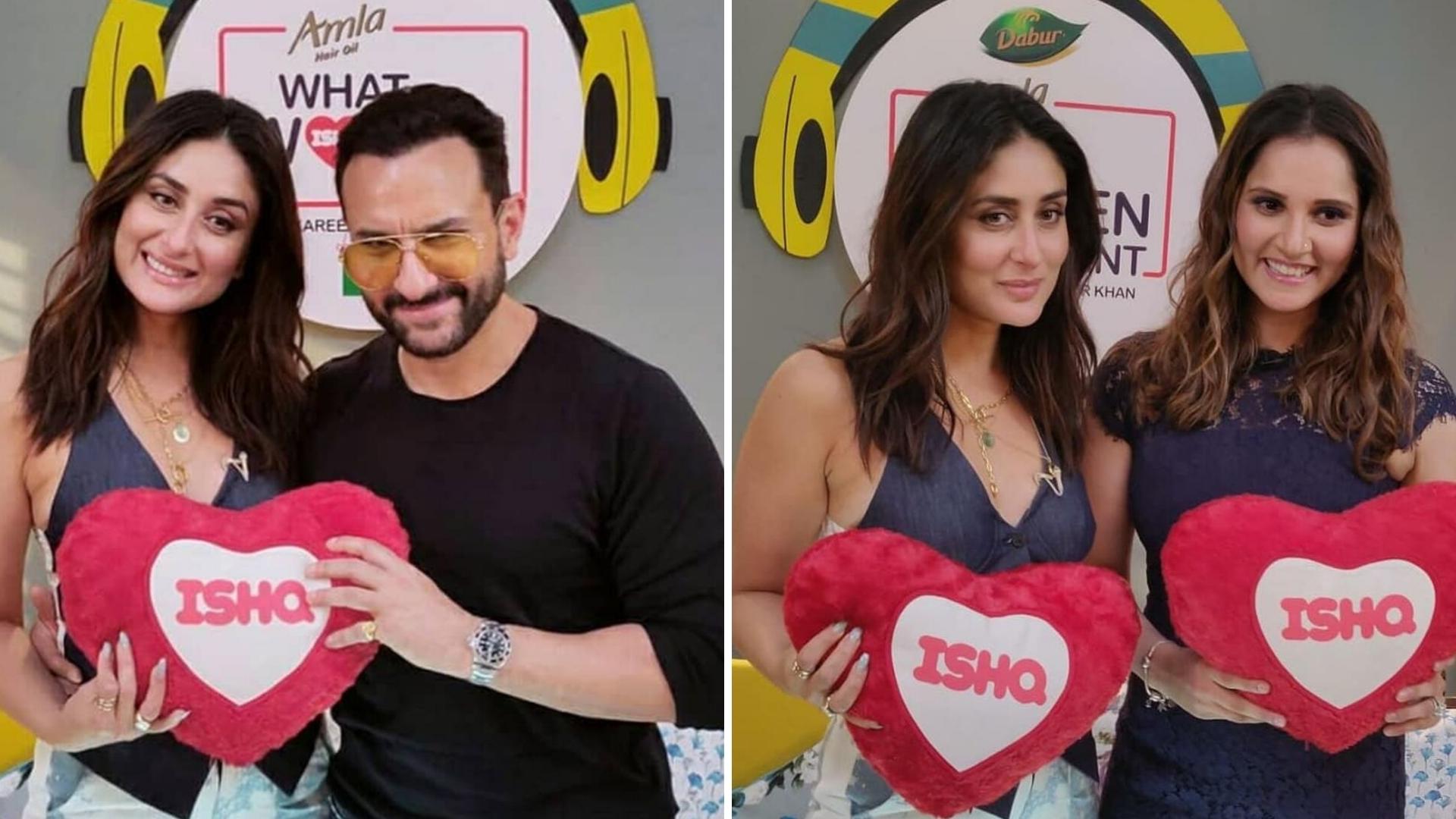 Kareena Kicks off 'What Women Want' Season 2 with Saif & Sania